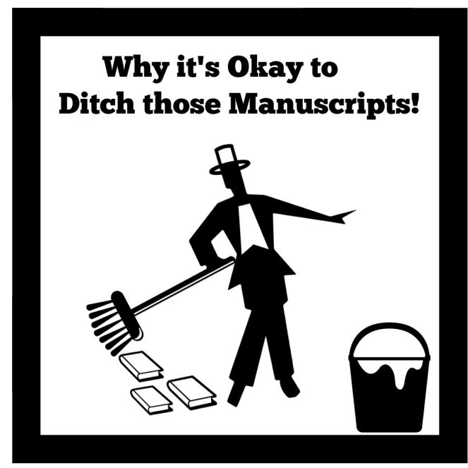 Why it's okay to ditch your manuscript!
